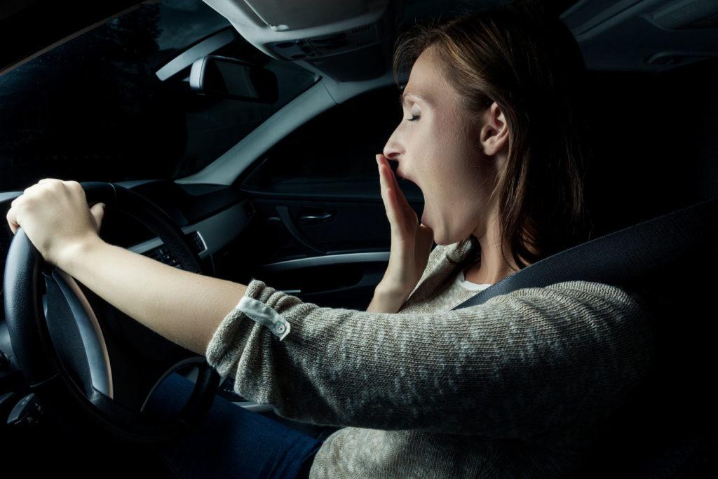 dormir, conducir, sueño