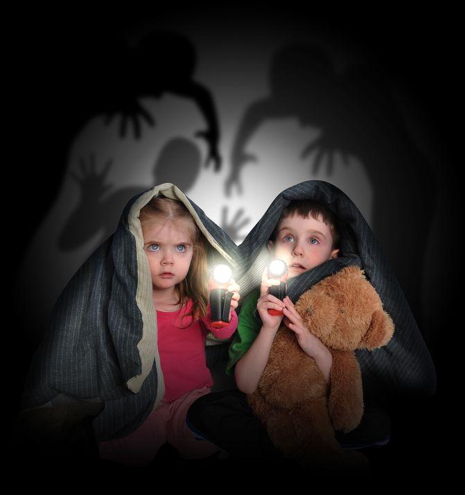 niños, terror